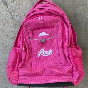 Pink Roots Backpack